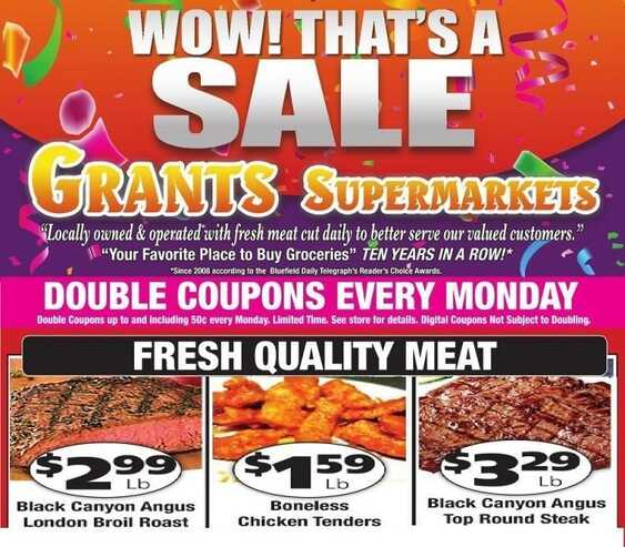 grants weekly ad feb 3