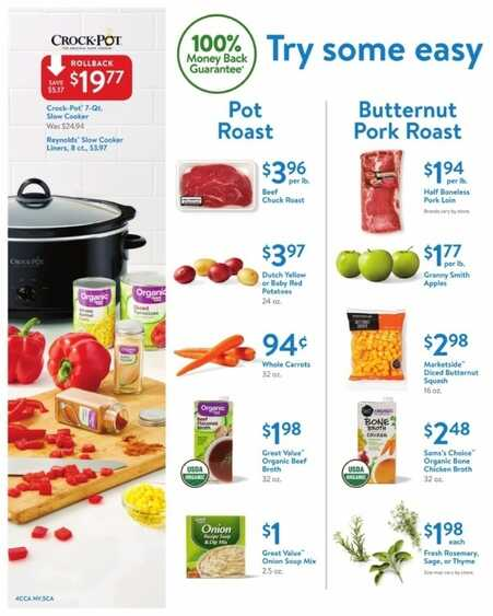 walmart grocery ad weekly ad VA State valid to October 14 2017