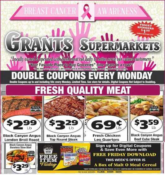 grants weekly ad richlands va valid to October 13 2017