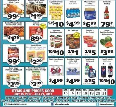 grants supermarket ad for this week