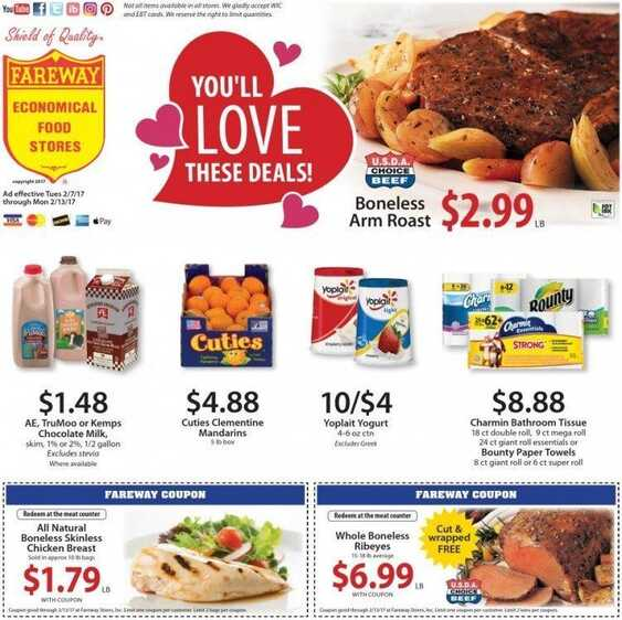 fareway ads this week 2/13/2017 in USA