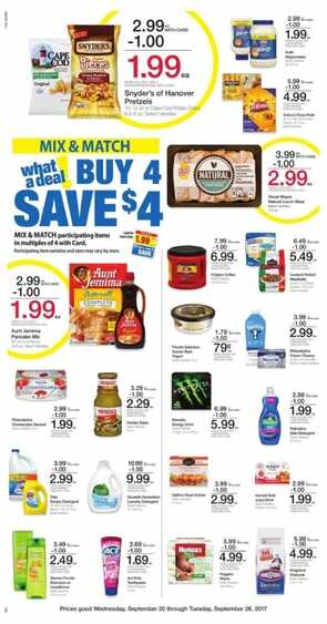 kroger ad for next week WV State 9/21 until 9/26 2017 - Page
