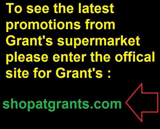 grants grocery weekly ad valid to 9/8 2017