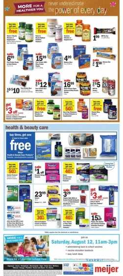 meijer weekly ads michigan for August 2017 8/12 to 8/16 2017