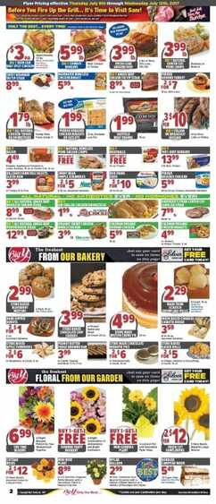 big y ad for this week valid to 7/12 2017 in USA