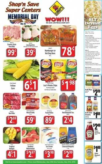 Lowes Food Promotion and Offers