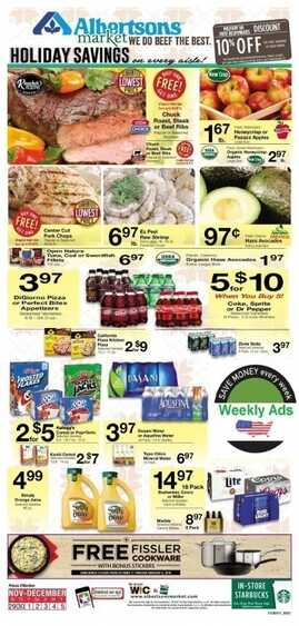 albertsons weekly ad california