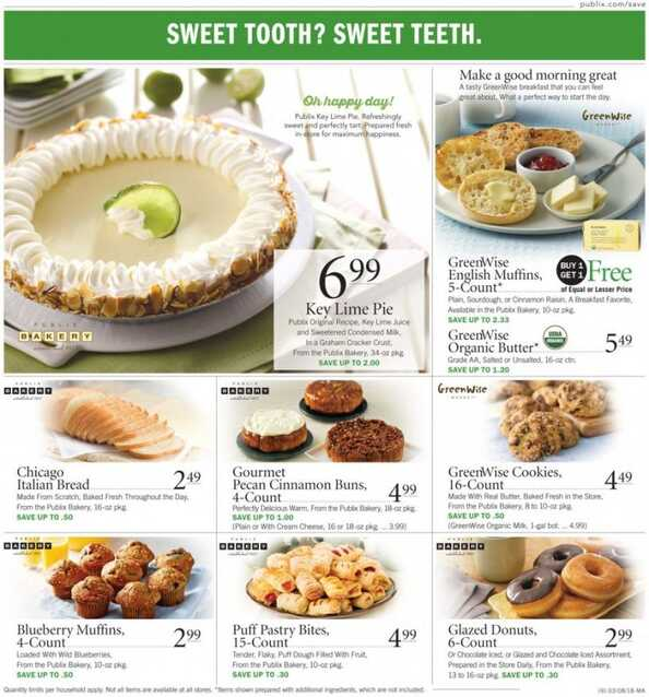 publix weekly ad this week valid to 3/14 2018 in Publix
