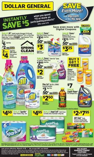dollar general sales ad for this week
