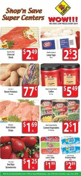 LOWES  OFFERS 27-7-2016