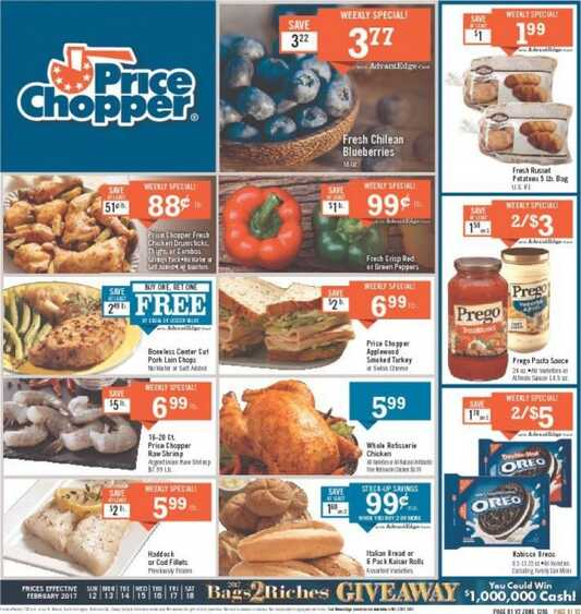 price chopper flyer this week valid to 2/18 2017