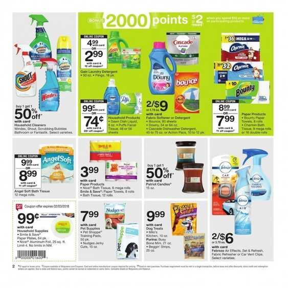 cvs weekly ad flyer for February 2018 valid to Feb 3 2018