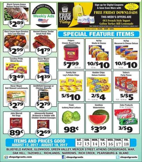 grants supermarket ads back to school valid to 8/18 2017