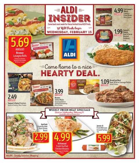 aldi weekly ad wednesday 2/15/2017 New ads in USA