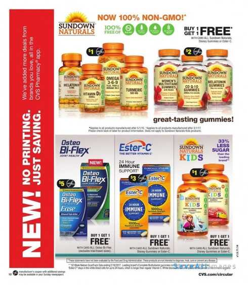 cvs weekly ad new jersey for this week 8/7 to 8/12 2017