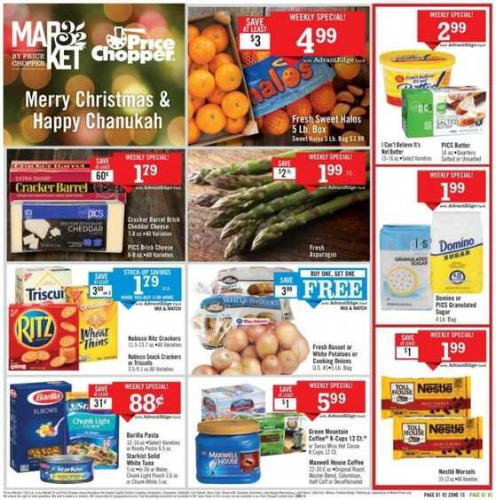 price chopper flyer this week new jersey valid to 12/16 2017