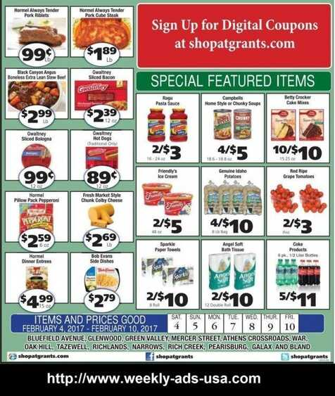grants weekly sales ads 2017