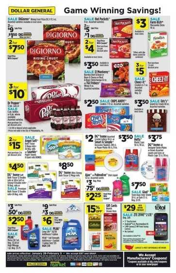 dollar general weekly ad this week