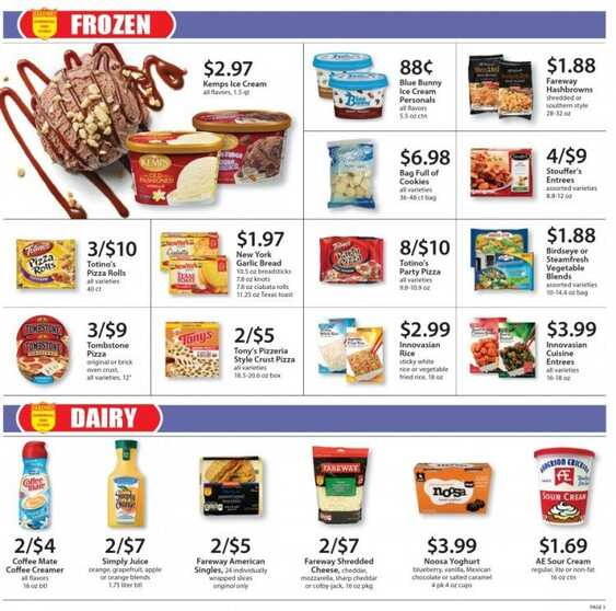 fareway ad this week 2/13/2017 in USA