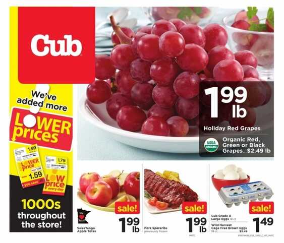 cub food ad this week 10/17 to 10/23 2017 All Stores