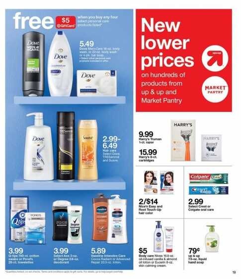 target weekly deals in stores now